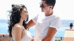 28. Woche: Paolas Mann Sascha sieht zum ersten Mal sein Baby