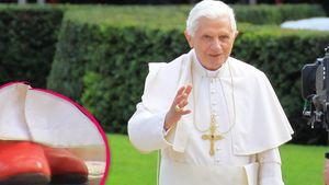 Warum trägt der Papst rote Schuhe?