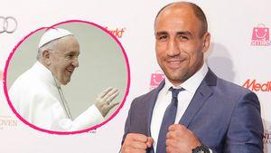 Papst Franziskus und Boxer Arthur Abraham