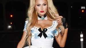 Paris Hilton auf dem Weg zur Treat Magazine Halloween Party in LA 2016
