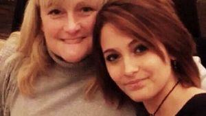Debbie Rowe und Paris Jackson im Jahr 2013