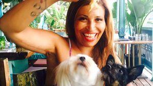 Patricia Blanco mit den Hunden Joker und Sissi