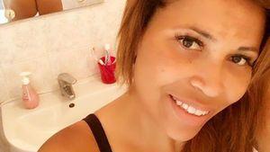 Patricia Blanco in Unterwäsche
