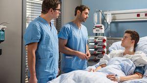 Junge Ärzte: Schwere Rolle für Patrick Mölleken