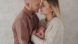 Nach Geburt: Patrizia Palme macht ihrem Mann Liebeserklärung