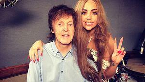 Lady GaGa und Paul McCartney