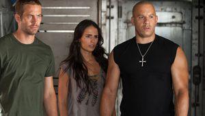 "Paul Walker, Jordana Brewster und Vin Diesel in ""Fast Five"""