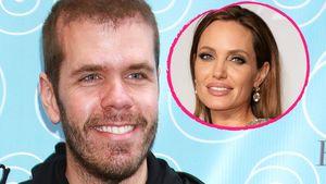 Perez Hilton und Angelina Jolie