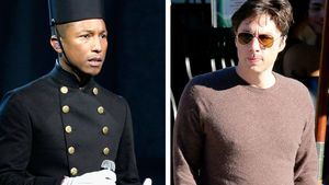 Zach Braff und Pharrell Williams