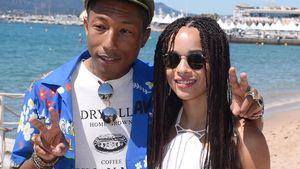 Strandtag: Zoe Kravitz gibt sich cool mit Pharrell Williams