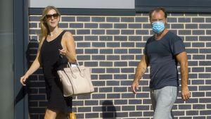 Babybauch bei Phillipa Coan weg: Ist Jude Law Papa geworden?