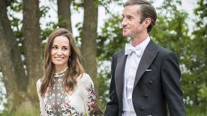 Weitere Hochzeit: Pippas & James' 1. Auftritt nach Honeymoon