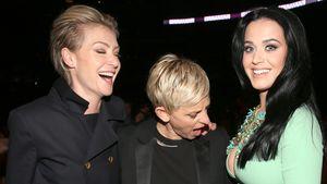 Ellen DeGeneres: Shitstorm wegen Katy Perrys Boobies!
