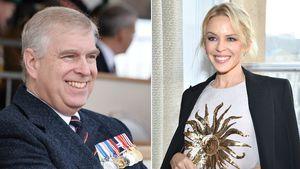 Prinz Andrew und Kylie Minogue