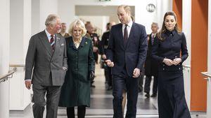 Selten: William und Kate mit Charles und Camilla unterwegs!