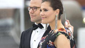 Prinz Daniel & Prinzessin Victoria bei der Geburtstagsfeier Königin Sonja & König Harald von Nor