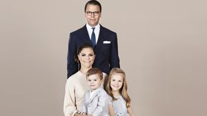 Estelle & Oscar so groß: Schweden-Royals mit neuem Familypic