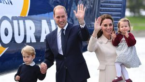 Prinz George, Prinz William, Kate Middleton und Prinzessin Charlotte 2016 bei ihrer Kanada-Tour