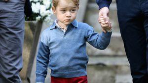 Prinz George beim royalen Besuch in Kanada im September 2016