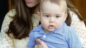 Prinz George: So war das 1. Treffen mit Mia Grace