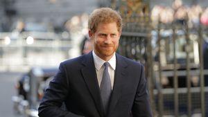 Prinz Harry vor der Westminster Abbey in London