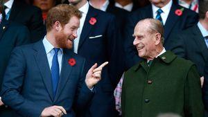 So hat Prinz Harry vom Tod seines Opas Prinz Philip erfahren