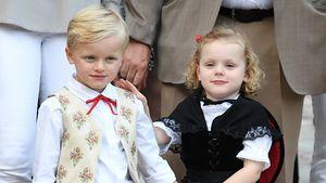 Goldig in Trachten: Charlènes Zwillinge bezaubern in Monaco