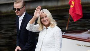 Marius Borg Høiby und Prinzessin Mette-Marit in Trondheim