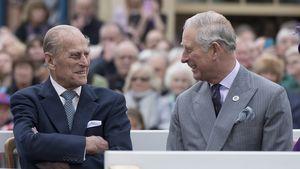 Krankenhausbesuch: Erzählte Prinz Charles Philip vom Megxit?