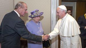 Telegramm an die Queen: Der Papst gedenkt Prinz Philips