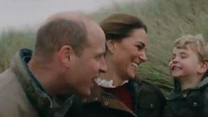 Zum Hochzeitstag: William und Kate zeigen süßen Familienclip