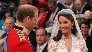 William und Kates Hochzeit brach gleich sechs royale Regeln