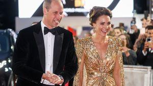 """So schön strahlt Herzogin Kate bei der """"James Bond""""-Premiere"""