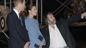 Herzogin Kate, Prinz William und Peter Jackson