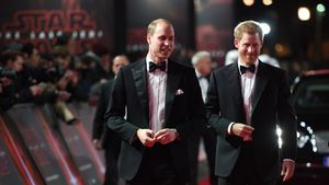 """Star Wars"": Prinz William & Harry auf der Europa-Premiere"