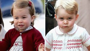 Prinzessin Charlotte und Prinz Geroge