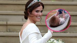 Süß! Prinzessin Eugenie teilt erstes Video von Baby August
