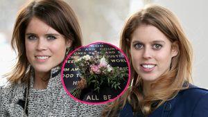 Zum Gedenktag: Eugenie und Beatrice legen Brautstrauß nieder