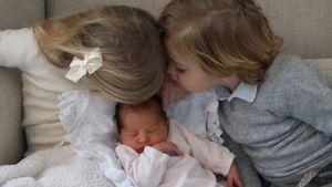 Jetzt 3 süße Kids: Prinzessin Madeleines Baby heißt Adrienne