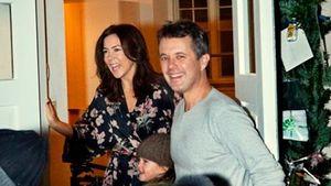 Royale Pyjamaparty? Dänisches Prinzenpaar daheim überrascht!