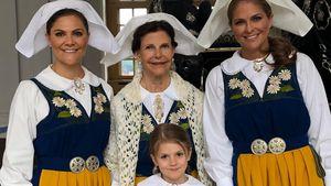 Family-Pic ohne Prinzessin Sofia: Seitenhieb von Madeleine?