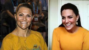 Hier matchen Looks von Prinzessin Victoria und Herzogin Kate