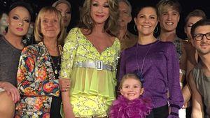 Coole Mini-Prinzessin: Estelle amüsiert sich mit Drag-Queens