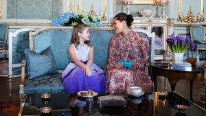 Großer Wunsch: Krebskranker Fan trifft Victoria von Schweden