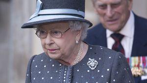 Queen Elizabeth bei einem Gottesdienst in der Westminster Abbey in London
