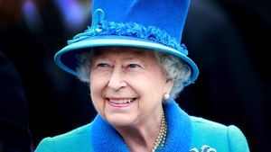Queen Elizabeth II. 2015 in Tweedbank, Schottland