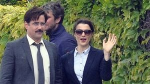 Colin Farrell und Rachel Weisz