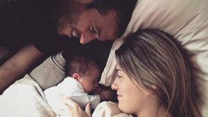 Rafael van der Vaart mit Estavana Polman und Tochter Jesslynn
