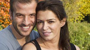 Rafael van der Vaart und Sabia Boulahrouz beim Shooting anlässlich Sabias Schwangerschaft 2013