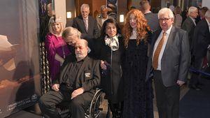 Nach seiner Herz-OP: Ralph Siegel im Rollstuhl bei Event